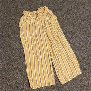 Hollister Co. Ultra High Rise Culotte Pants